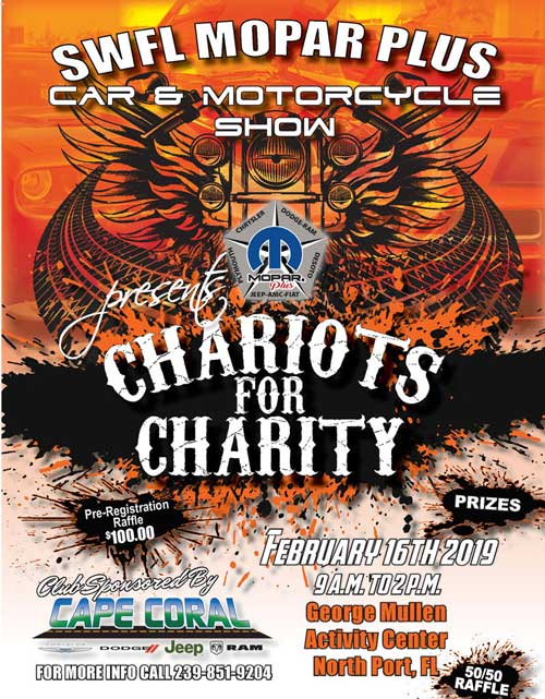 2019 Mopars Chariots for Charity