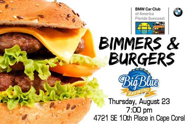 FSC 2018 August Bimmers and Burgers - Cape Coral