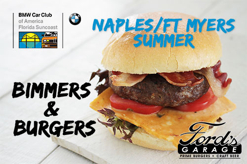 FSC 2016 July Burgers and Bimmers - Cape Coral