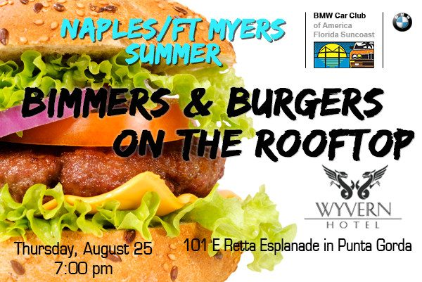 FSC 2016 August Burgers and Bimmers - Punta Gorda