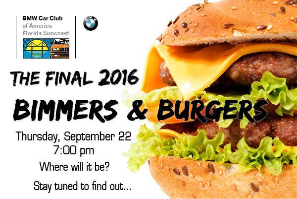 FSC 2016 September Burgers and Bimmers