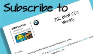 FSC BMW CCA Weekly