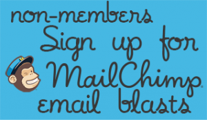 non-member Mailchimp sign up