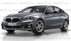 2 Series Gran Coupe Rendered
