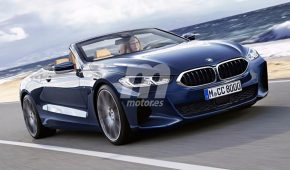 8 Series Convertible Rendered