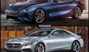 BMW 8 vs MB S-Class Coupe