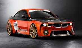 The BMW 2002 Hommage Coupe